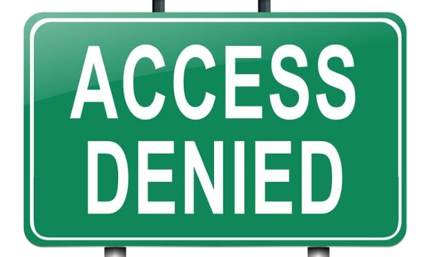 Access senied